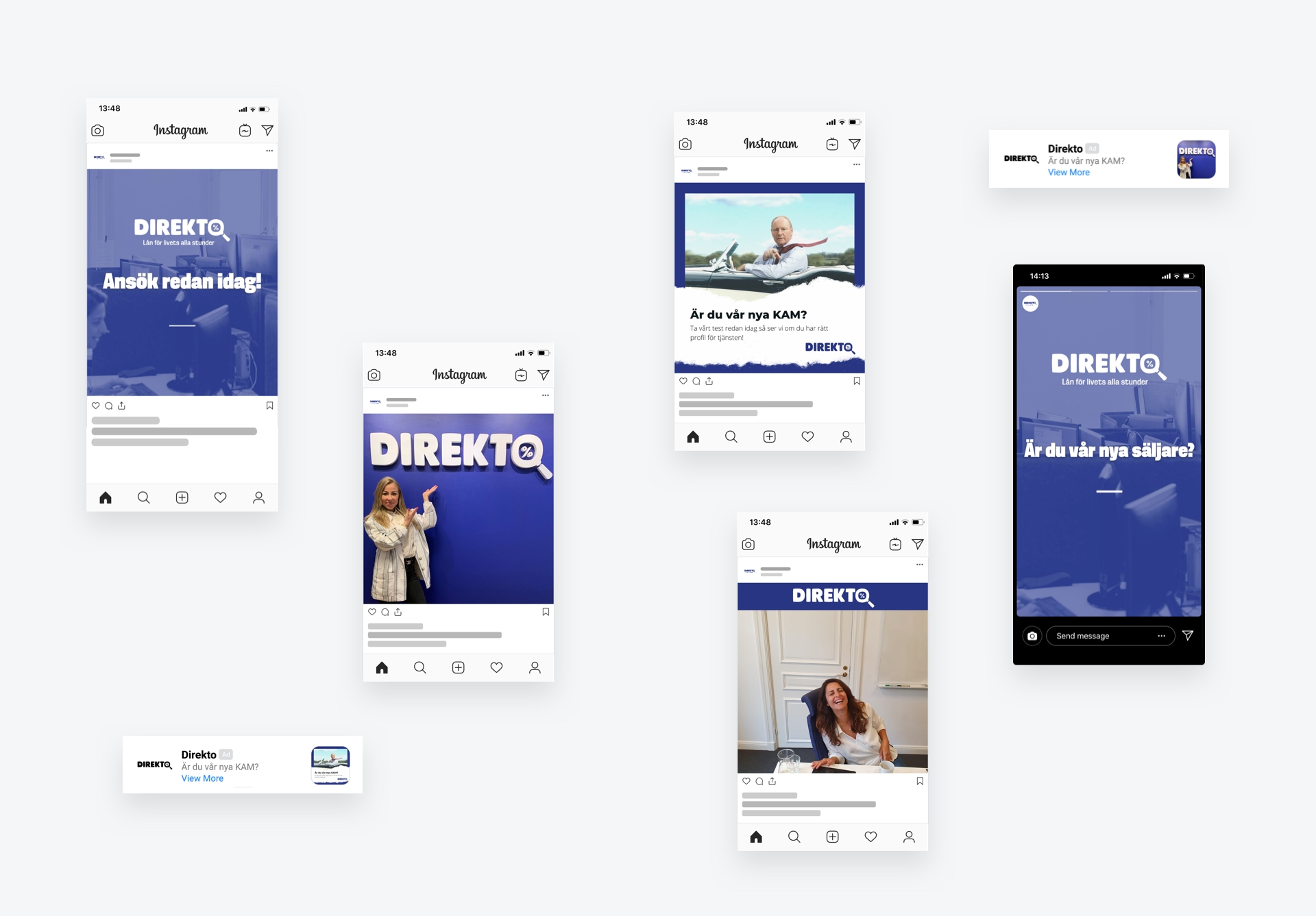digital marknadsföring rekrytering annonser facebook instagram