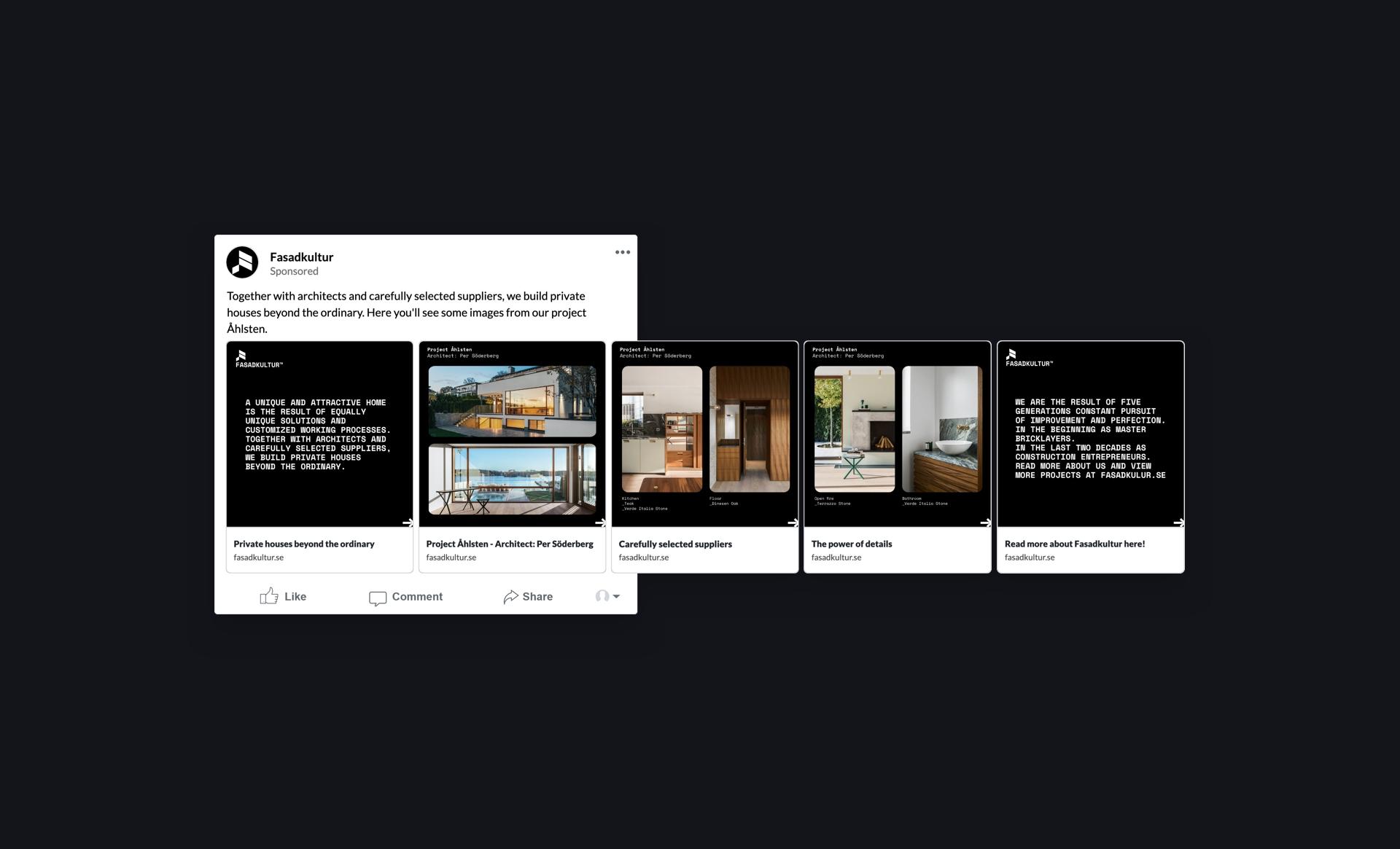 digital marknadsföring linkedin arkitekt