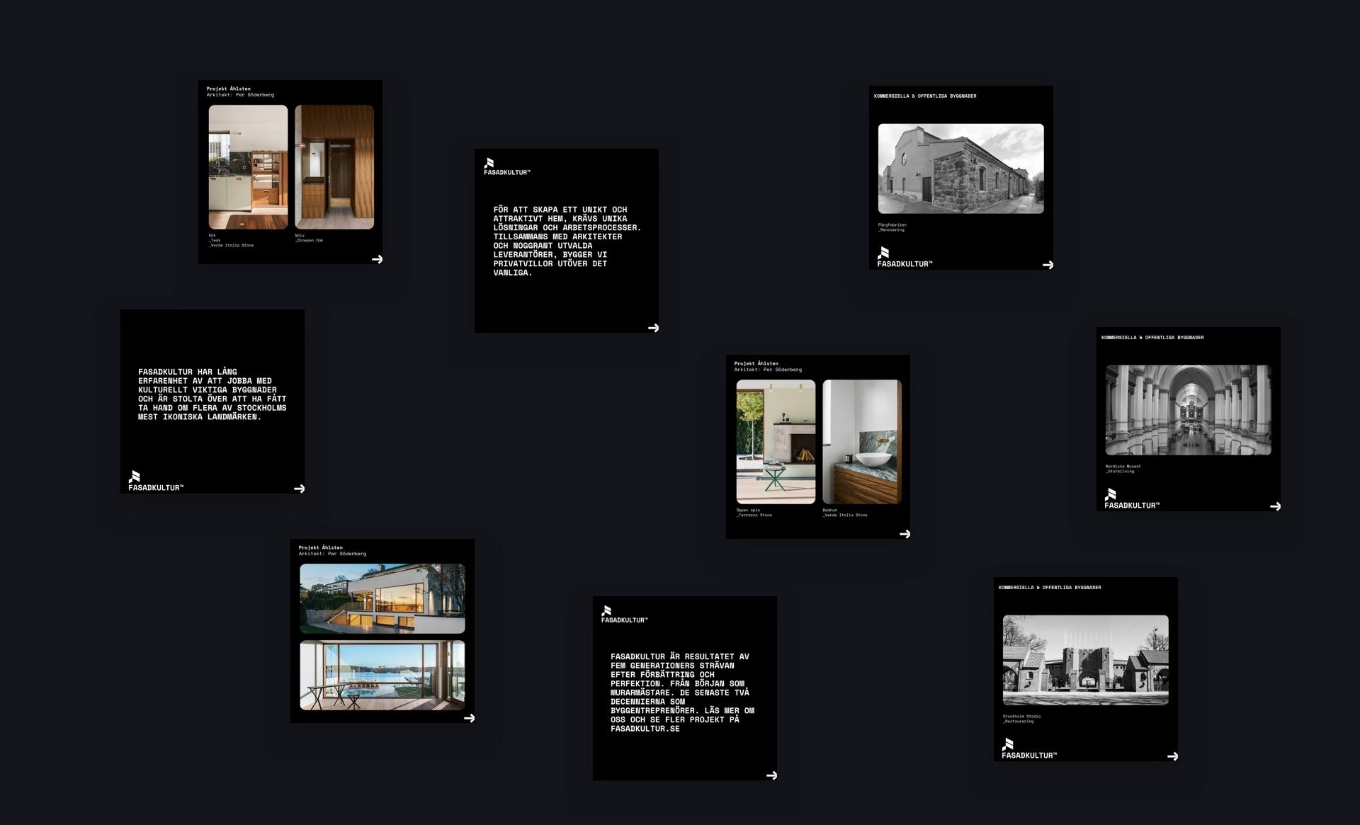 Digital marknadsföring arkitekt bygg